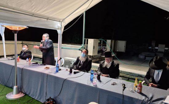 כינוס החירום של ח''כי שס ויהדות התרה
