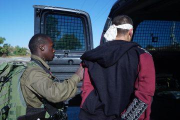 תיעוד לילי מהקסדה: מעצר המרצחים
