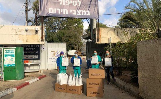 לוריאל ישראל למען צוותי הרפואה צילום אסף לוי (9) (Custom)