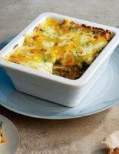 לכבוד שבועות: לזניית ירקות בווק עם גבינת שמנת