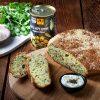 לחם זיתים מהיר ללא שמרים