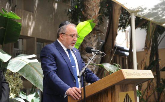 ליברמן צילום דנה שרגא משרד הביטחון