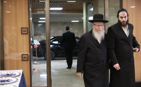 ליצמן ובבצ'יק צילום דוברות הכנסת