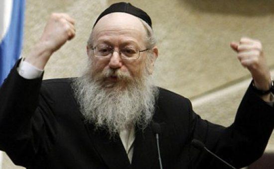 השר יעקב ליצמן במליאת הכנסת