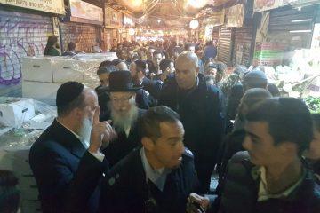 ליצמן נגד ליאון: מעניק גיבוי לבילויים במחנה יהודה