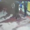 מצלמות האבטחה תיעדו: הנערים הציתו תחנת דלק