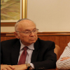 """בן דוד של הרבי: שר המשפטים לשעבר יעקב נאמן ז""""ל"""