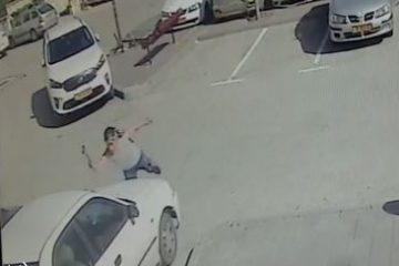 תיעוד: 'מנפץ המכוניות' של מודיעין עילית