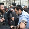 """פריז: שרי החוץ התאספו לוועידת """"שלום"""", היהודים הניחו תפילין, תקעו בשופר והפגינו"""