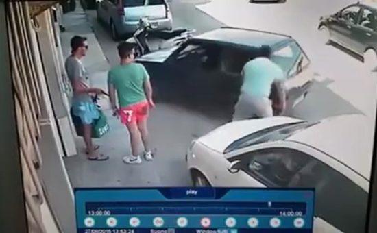 לצאת מחניה