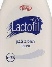 חדש: תחליב הסבון היחיד בעל רמת חומציות 3.5 PH