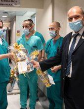 מבקר המדינה הפתיע בבית החולים