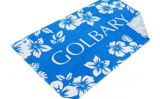 מגבת כחול לבן של גולברי