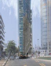 עוד מגדל: 55 קומות מול הבורסה