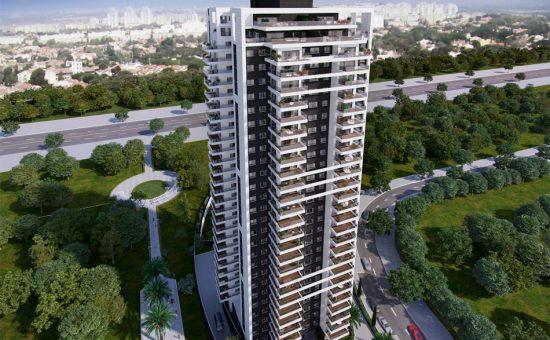 מגדל המגורים בפתח תקוה קרדיט צילום ע. לוזון השקעות ונכסים בעמ