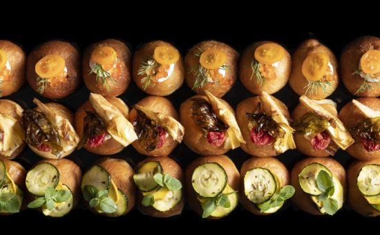 מונייר - מיני סופגניות מלוחות   צילום: דניאל לילה