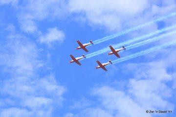 גלריית ענק: מטס חיל האוויר