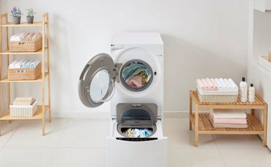 מכבשת - מכונת כביסה וייבוש LG. צילום יחצ חול. (12)