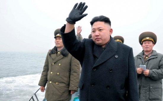 מנהיג צפון קוריאה קים גונג און