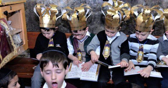 גלריה: 'מסיבת חומש' במערת אליהו