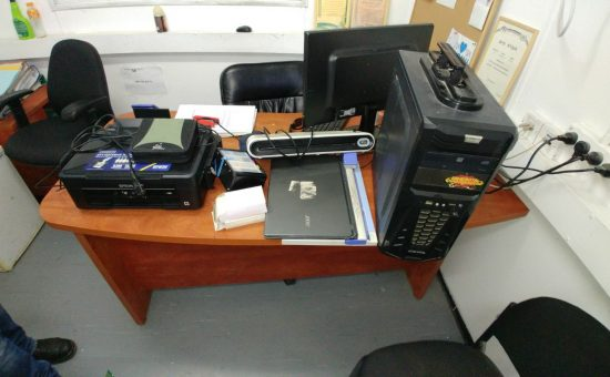 מעבדה לזיוף מסמכים