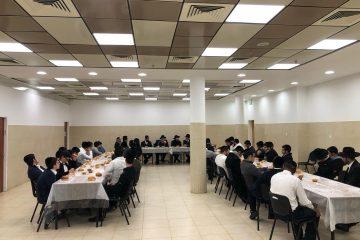 ה'וועד' ביקר בישיבה ושיבח: שומרים הנחיות