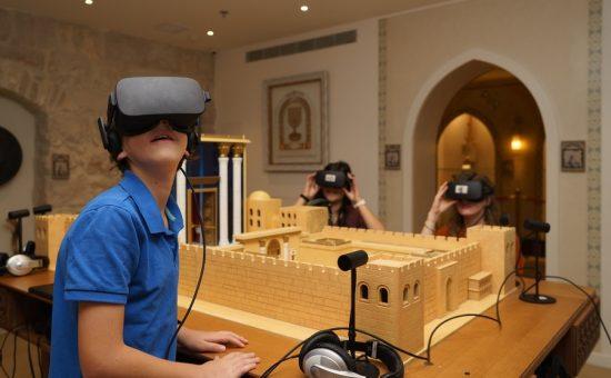 מציאות מדומה במוזיאון המוסיקה העברי בירושלים צילום איתי נדב