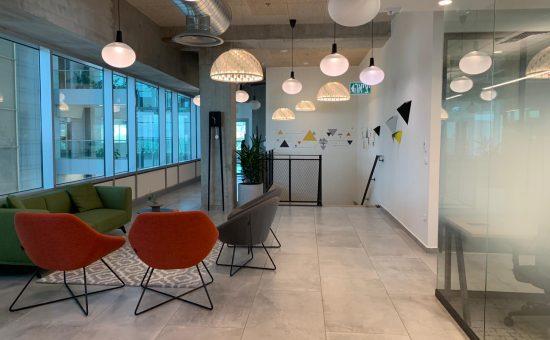 משרדי חברת די אס פי בכרמיאל---קרדיט אלי לוי