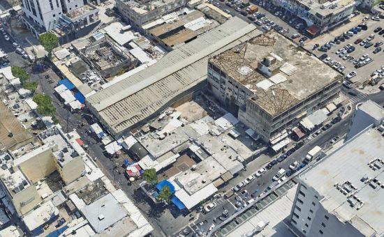 מתחם השוק בנתניה, צילום סימפלקס