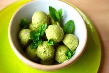 גלידת מאצ'ה מנטה: טבעוני, בריא וקל להכנה