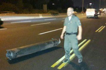 ארבעה חיילים נפצעו משיגור רקטה בעת תרגיל