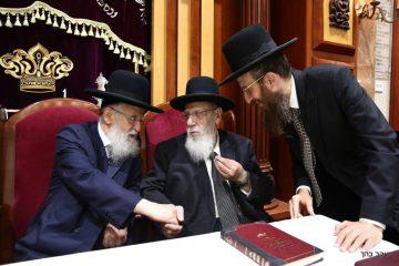 נשיא המועצת חיזק את ישיבת באר יהודה: גלריה
