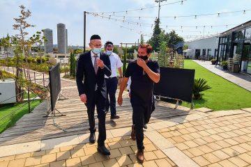 מקלב ביקר ב'מיני ישראל'