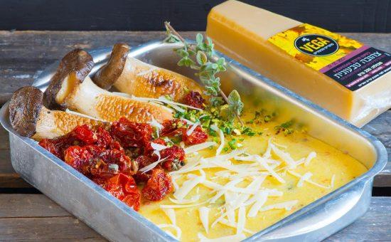 סדרת ממרחי הצהובות של וגה מוצרים טבעוניים | צילום: הדס ניצן