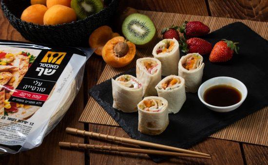 סושי פירות עם טורטיה צילום נמרוד סונדרס (3)