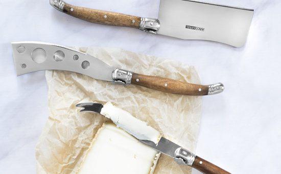 סט סכינים לגבינות של המותג ארקוסטיל | צילום: גלי איתן