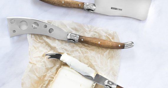 מיוחד לשבועות: סט סכיני גבינה מקצועי