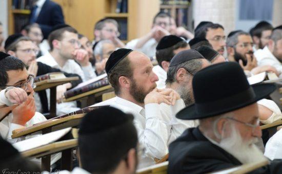 סיום בנר ישראל, צילום אהרן ברוך ליבוביץ (10)