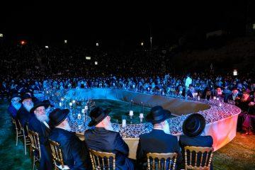 """חב""""ד: רבבות חגגו את סיום הרמב""""ם"""