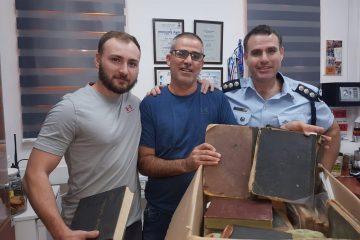 קוממיות: נתפסו ספרי הקודש שנגנבו מבית הרב