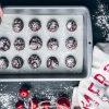 ליד התה: עוגיות שוקולד מושלגות