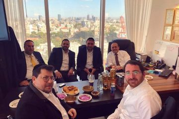 חברי הכנסת התארחו בקבינט המשפטי