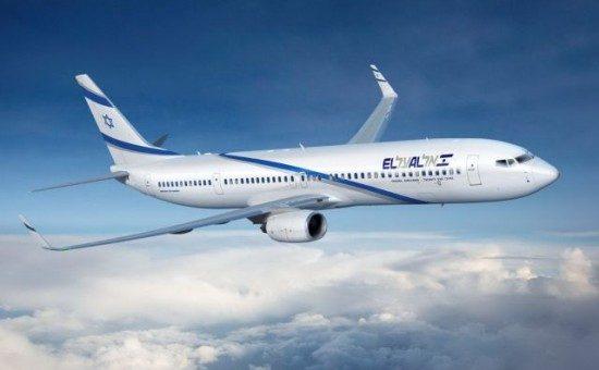 אילוסטרציה: מטוס אל על בואינג 737