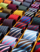 זה כל הצבע: עניבות לגבר שהוא ג'נטלמן