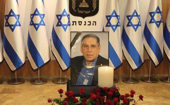 עצרת לזכרו של רחבעם זאבי. צילום: הכנסת