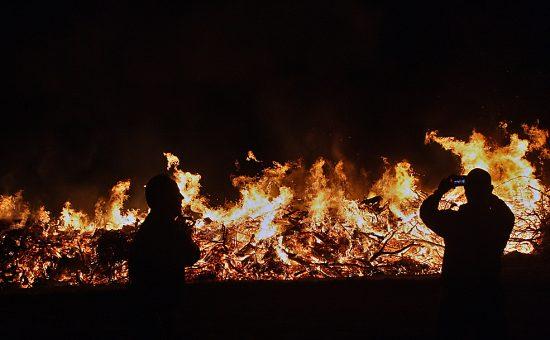 שריפה.  צילום ארכיון: שי וקנין