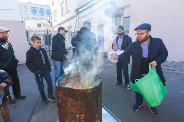 בירת רוסיה: מכירת חמץ ושריפת חמץ – גלרייה