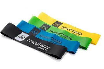 גומיות כוח Powerbands •אפקטיבי, רב-שימושי, נייד ומשתלם