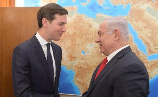 פגישת ראש הממשלה בנימין נתניהו עם ג'ארד קושנר. צילום עמוס בן גרשום לעמ (1)