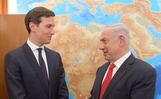 פגישת ראש הממשלה בנימין נתניהו עם ג'ארד קושנר. צילום עמוס בן גרשום לעמ (2)